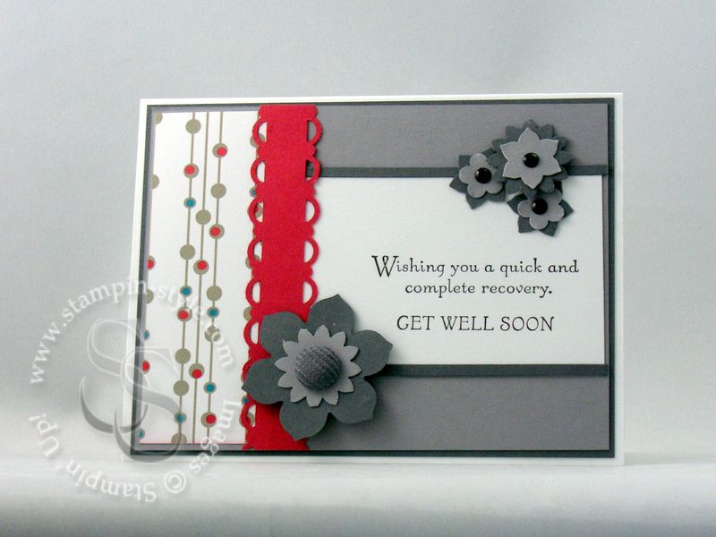 Mojo 123 Get Well Soon Stampin Style