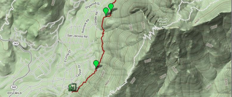Ernie Maxwell Trail map