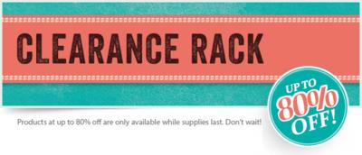 Clearance Rack Banner