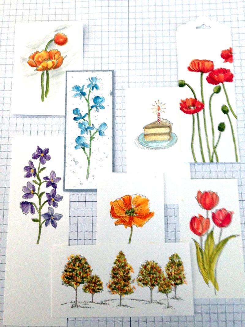 Wayercolor samples