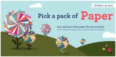 Free Paper Promo