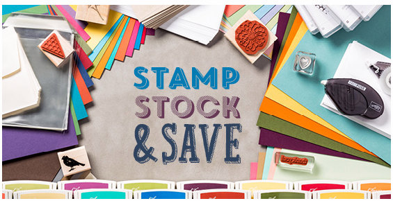 Stamp, Stock, Save header